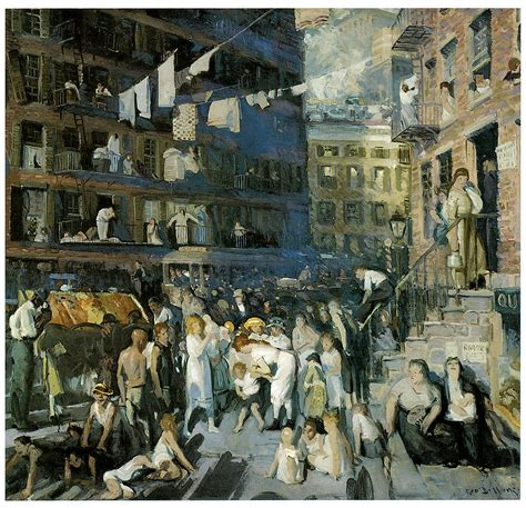 the way back the paintings of george a weymouth a brandywine valley visionary books cliff dwellers painting by george bellows