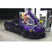 Purple McLaren P1 Spotted In Chile