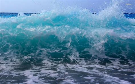 edge of wallpaper curls ocean wave wallpapers group with 50 items
