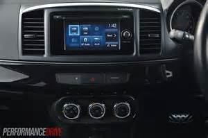 Mitsubishi Lancer Touch Screen 2013 Mitsubishi Lancer Ralliart Sportback 6 1in Touch Screen