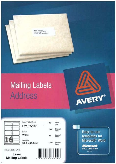 avery 18663 template word