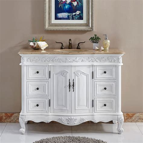 48 Quot Lavatory Bathroom Single Sink Vanity Cabinet Bathroom Sink With Vanity