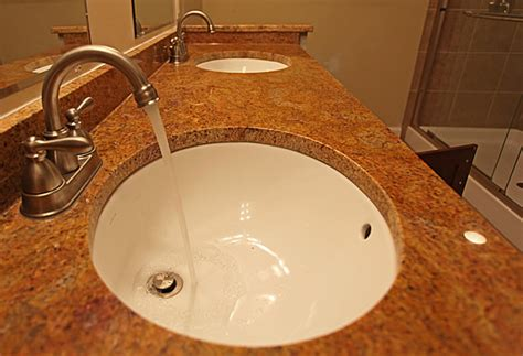 Granite Countertops For Bathroom Vanities Bathroom Undermount Sinks Granite Countertops Quotes