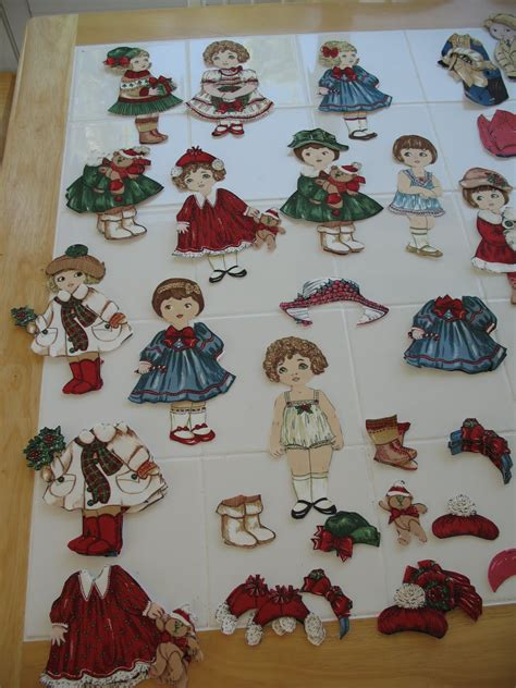 How To Make Fabric Paper Dolls - quilt cookies new fabric paper dolls