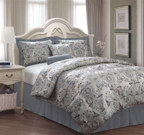 jacquard comforter set queen 6 piece queen kingston jacquard bedding comforter set ebay