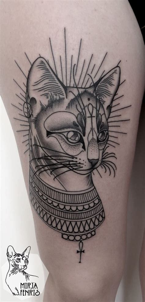egyptian cat tattoo best 25 bastet ideas on