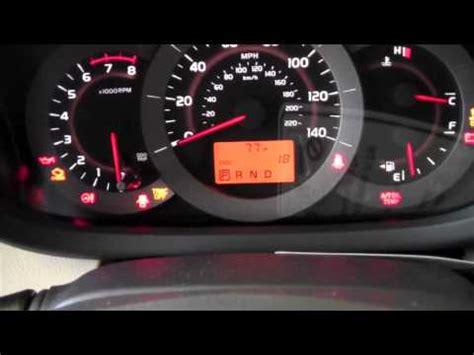 toyota rav4 auto lsd light