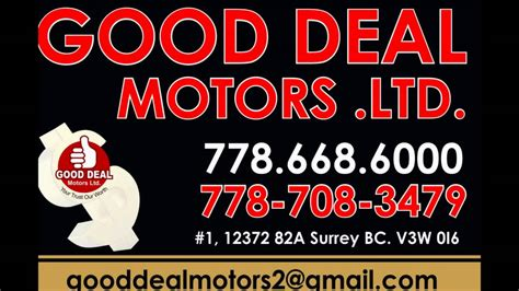 motors surrey deal motors ltd surrey