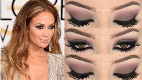 makeup tutorial jennifer lopez jennifer lopez golden globes 2015 makeup tutorial
