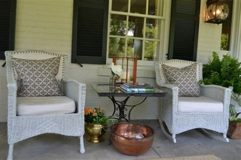 Small Porch Chairs Front Porch Re Do A Room With A View