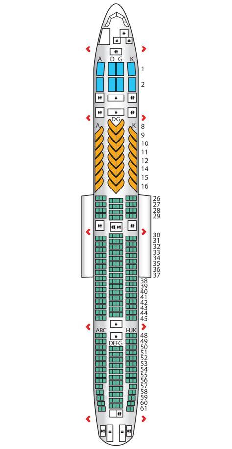 boeing 777 300er jet seating plan b777 300er jet airways seat maps reviews seatplans