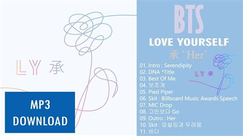 free download mp3 bts album bts 방탄소년단 love yourself 承 her mini album mp3