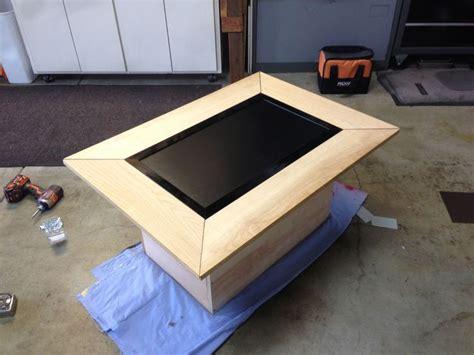 lcd coffee table gaming table diy coffee table arcade