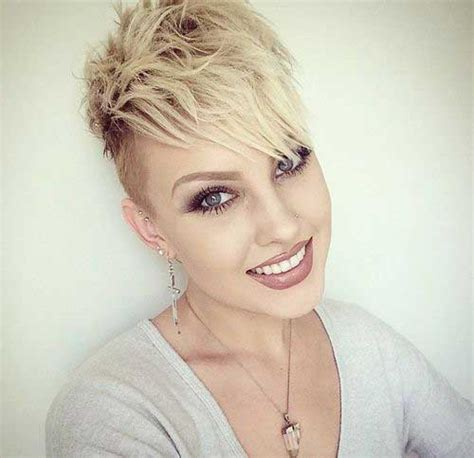 Edgy Hairstyles by 20 New Edgy Pixie Cuts Pixie Cut 2015