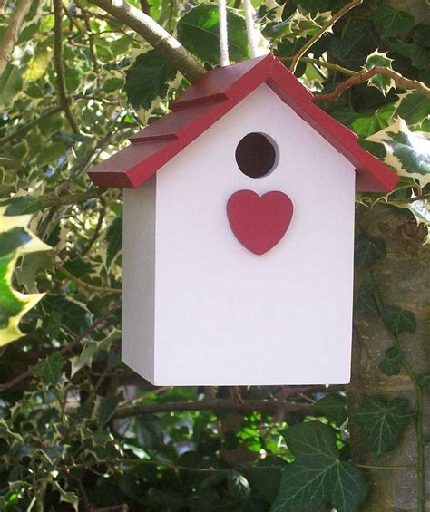 Handmade Birdhouse - handmade bird house by the painted broom company