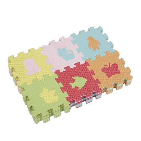 Tapis Puzzle Bébé by Puzzle Lot De 36pcs Tapis Jouet Animaux Soft Mousse