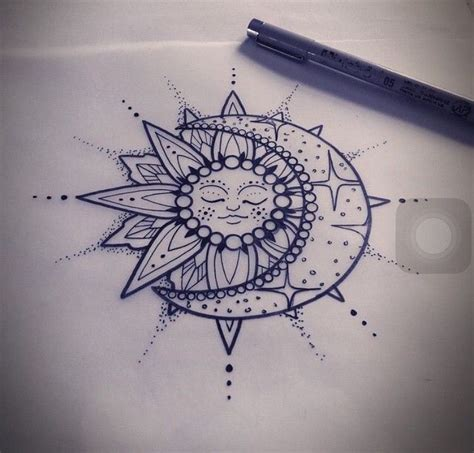 tattoo pen zwart you re the sun and the moon and all the stars beauty face