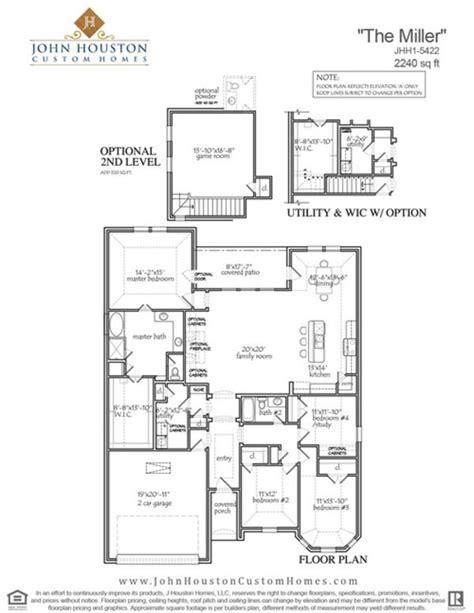 john houston custom homes house design builder floor john houston custom home floor plans