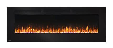 napoleon 60 in wall mount electric fireplace nefl60fh