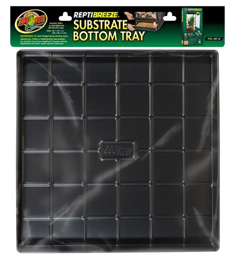 reptibreeze substrate bottom tray zoo med laboratories
