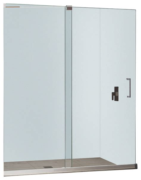 Dreamline Mirage 56 60 Quot Frameless Sliding Shower Door Modern Glass Shower Doors