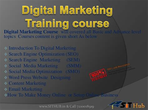 Courses On Digital Marketing by Digital Marketing In Janakpuri