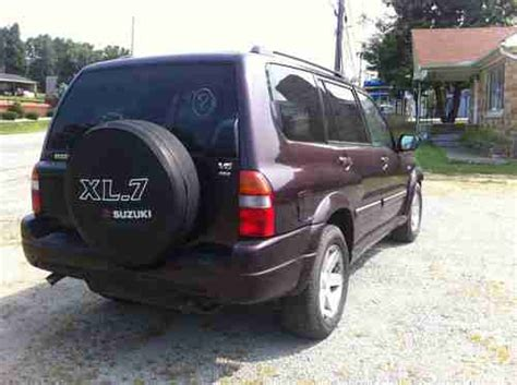 how cars engines work 2003 suzuki xl 7 regenerative braking find used 2003 suzuki xl7 7 seat 4x4 salvage title minor damage in louisville kentucky