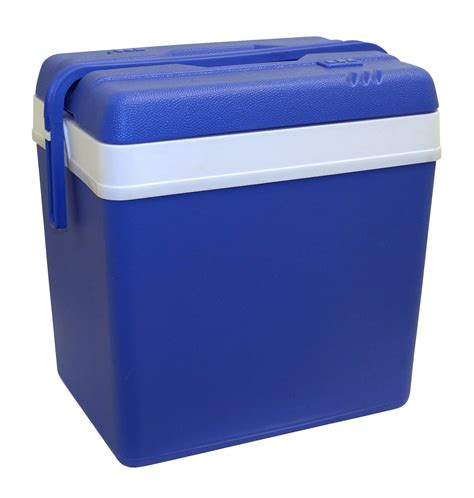 Box Cooler Large 24l Blue Cooler Box Cing Picnic Food