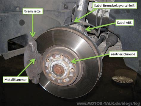 bremsscheiben wechseln wann bremsbelag und bremsscheibe wechseln passat 3c fcg