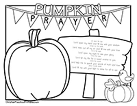 pumpkin gospel coloring pages halloween harvest bible printables christian preschool