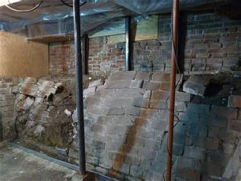 how to repair a basement wall solving foundation problems with shotcrete in eastern