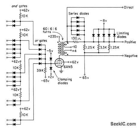 definition of diode logic circuit index 165 basic circuit circuit diagram seekic