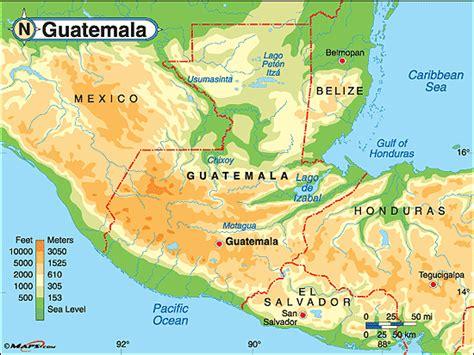 geography of guatemala wikipedia guatemala bergen karte