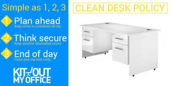 What Is Clean Desk Policy by How To Make A Clean Desk Policy Stick Kit Out My