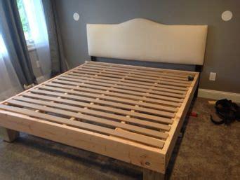 mattress underground king sized deck diy bed frame