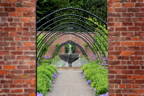 what is a walled garden on the visit ards and