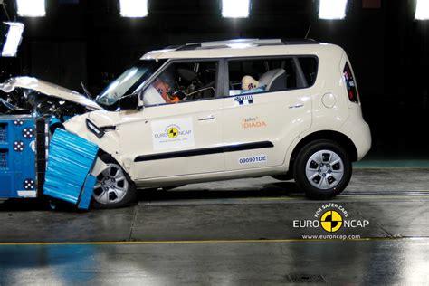 Kia Soul Crash Kia Soul Scores 5 Euroncap Crash Test Rating Kia