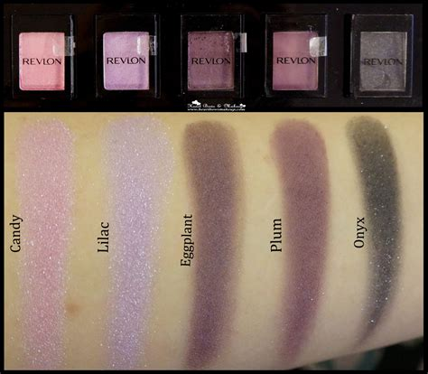 Revlon Eyeshadow Colorstay all revlon colorstay shadowlinks eyeshadow swatches