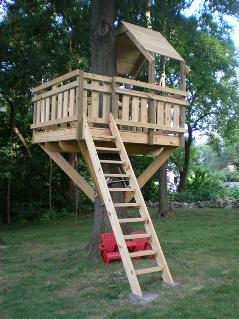 kids backyard forts tree fort village custom furniture