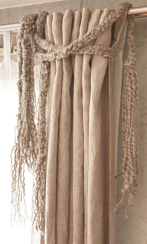 curtain embellishments diy curtain wool braid embellishment wt accessories tie