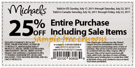 michaels printable coupons 2014 you can have a percentage of 40 on any price item of regular