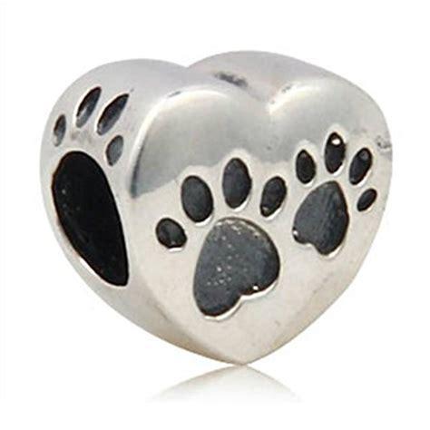 pandora puppy charm pandora paw on charm