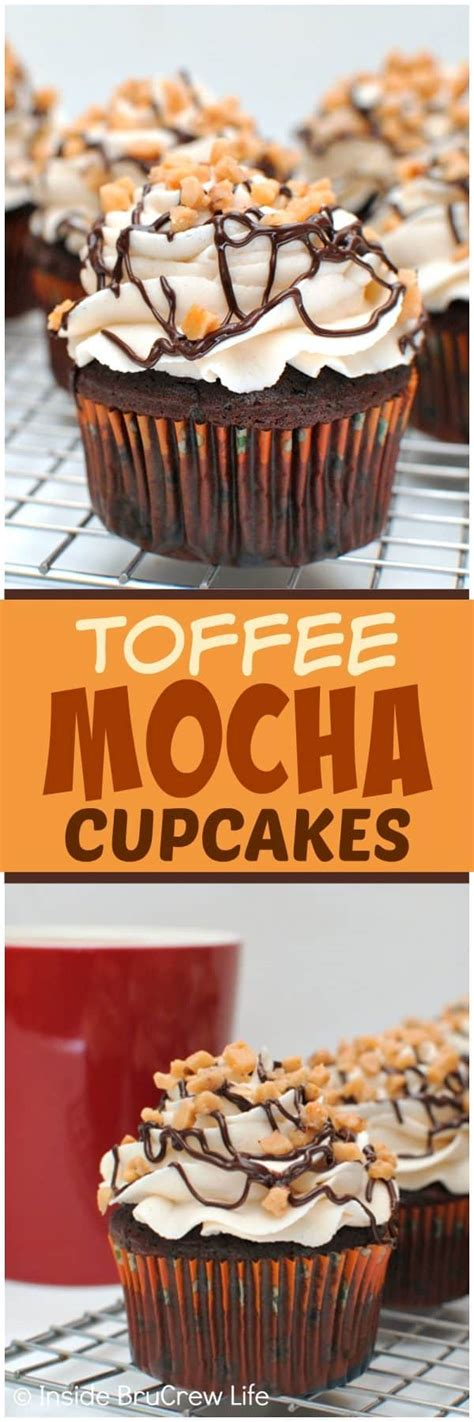 Link Mocha Cake With Coffee Bean Brittle by Toffee Mocha Cupcakes