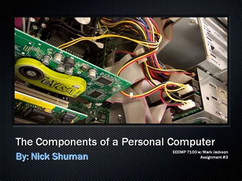 The Components of a Personal Computer  authorSTREAM