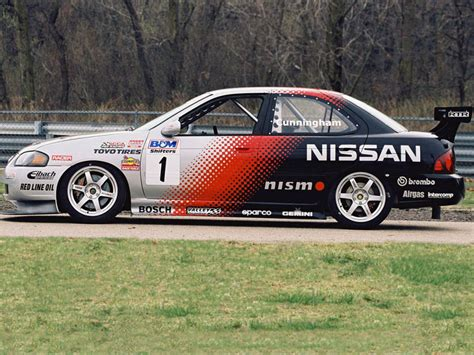 nissan sentra race car nismo nissan sentra se r spec v racing car b15 2004