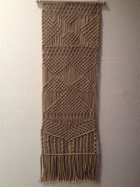 handmade macrame wall hanging macrame home decor