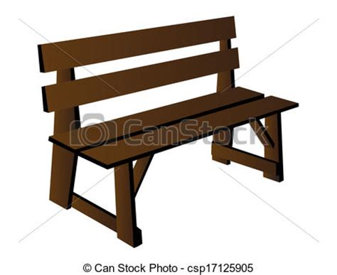 bench clipart wooden benches clipart clipground