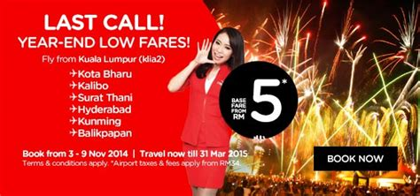 airasia year end sale airasia year end low fares promotion airasia promotions