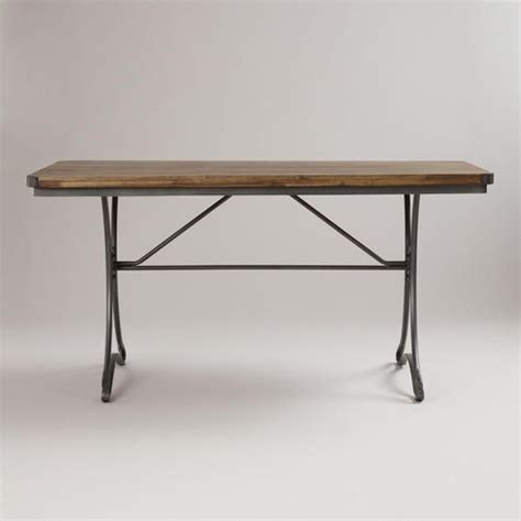 table jackson ca jackson rectangular table with metal base industrial