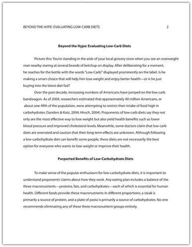 introduction for a research paper exles apa research paper introduction